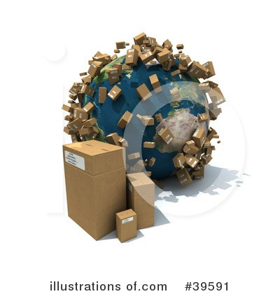 Shipping Clipart #39591 by Frank Boston