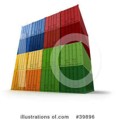 Shipping Clipart #39896 by Frank Boston
