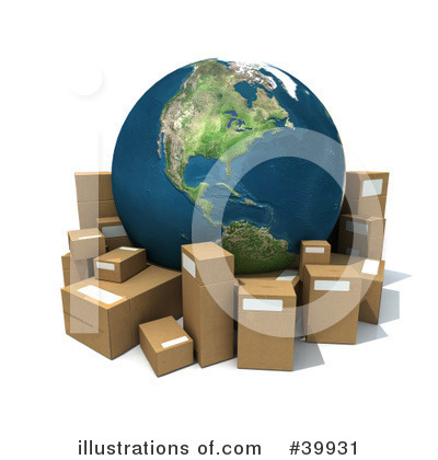 Shipping Clipart #39931 by Frank Boston