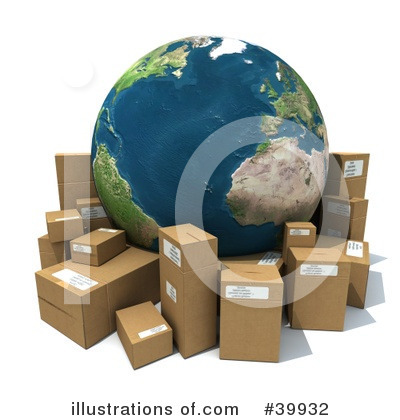 Shipping Clipart #39932 by Frank Boston