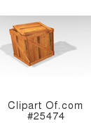 Shipping Crate Clipart #25474 by KJ Pargeter