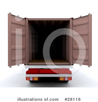 Trucking Clipart #28116 by KJ Pargeter