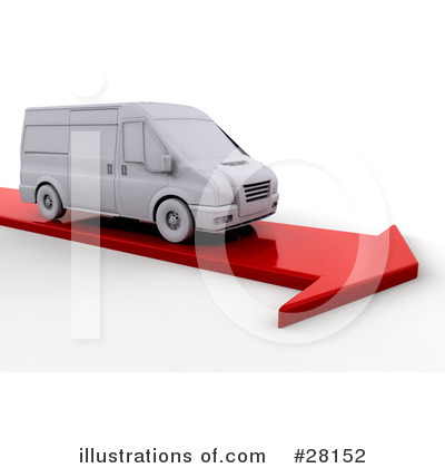 Delivery Van Clipart #28152 by KJ Pargeter