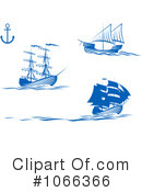 Ships Clipart #1066366 by Vector Tradition SM