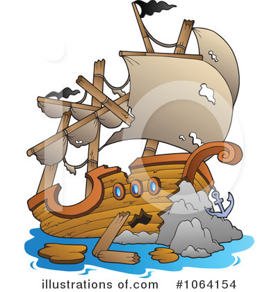 Ship Clipart #1064154 by visekart