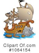 Shipwreck Clipart #1064154 by visekart