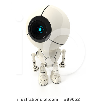 Robot Clipart #89652 by Leo Blanchette