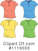 Shirt Clipart #1119003 by Graphics RF