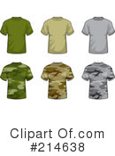 Shirts Clipart #214638