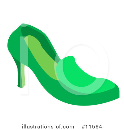 Shoe Clipart #11564 by AtStockIllustration