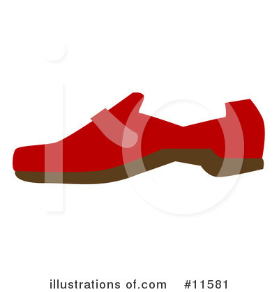Shoe Clipart #11581 by AtStockIllustration