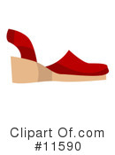 Shoe Clipart #11590 by AtStockIllustration