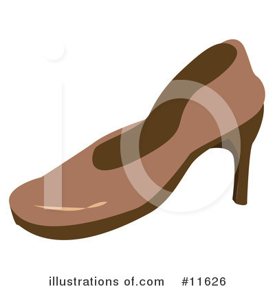 Shoe Clipart #11626 by AtStockIllustration