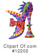 Shoe Clipart #12202 by Amy Vangsgard