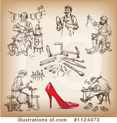 Cobbler Clipart #1124473 by Eugene