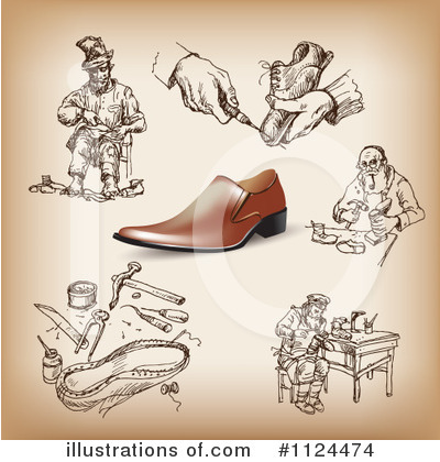 Cobbler Clipart #1124474 by Eugene