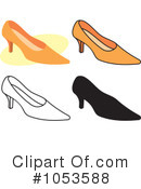 Shoes Clipart #1053588 by Any Vector