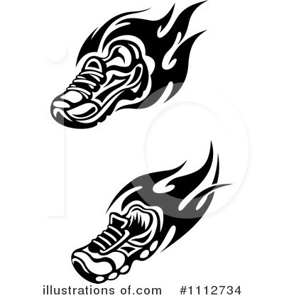 Shoe Clipart #1112734 by Vector Tradition SM
