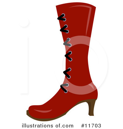 Shoe Clipart #11703 by AtStockIllustration