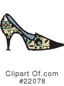 Shoes Clipart #22078 by Steve Klinkel