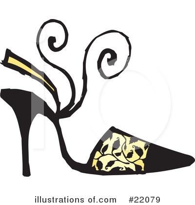 High Heel Clipart #22079 by Steve Klinkel