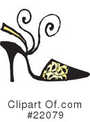 Shoes Clipart #22079 by Steve Klinkel