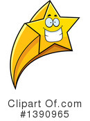 Shooting Star Clipart #1390965 by Cory Thoman