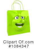 Shopping Bag Clipart #1084347 by Julos