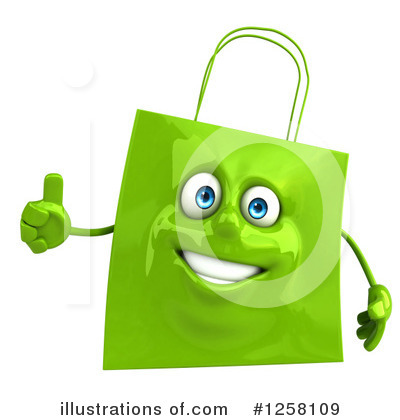 Shopping Bag Clipart #1258109 by Julos