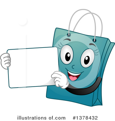 Shopping Bags Clipart #1378432 by BNP Design Studio