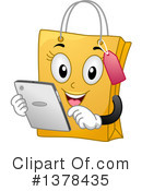 Shopping Bag Clipart #1378435 by BNP Design Studio