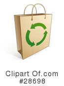 Shopping Bag Clipart #28698 by beboy