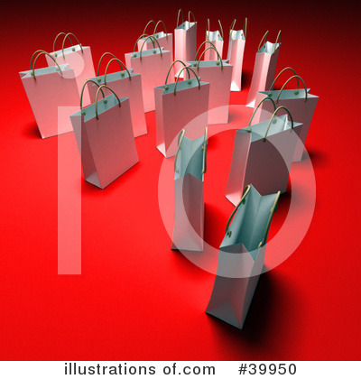 Shopping Bag Clipart #39950 by Frank Boston