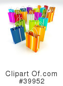 Royalty-Free (RF) Shopping Bag Clipart Illustration #39952