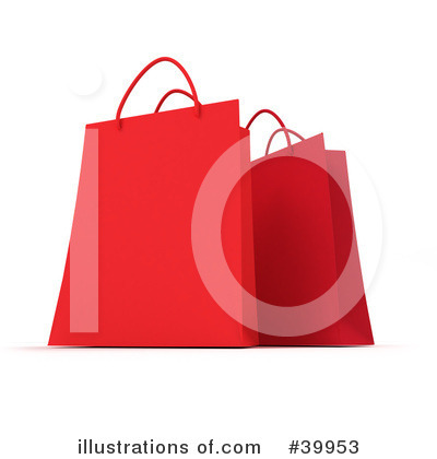 Shopping Bag Clipart #39953 by Frank Boston