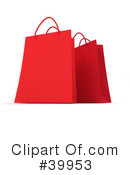 Royalty-Free (RF) Shopping Bag Clipart Illustration #39953