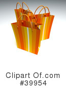 Royalty-Free (RF) Shopping Bag Clipart Illustration #39954