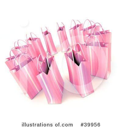 Shopping Bag Clipart #39956 by Frank Boston