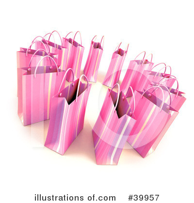 Shopping Bag Clipart #39957 by Frank Boston