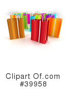 Royalty-Free (RF) Shopping Bag Clipart Illustration #39958
