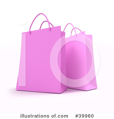 Shopping Bag Clipart #39960 by Frank Boston