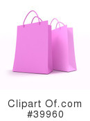 Royalty-Free (RF) Shopping Bag Clipart Illustration #39960