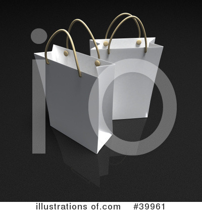 Shopping Bag Clipart #39961 by Frank Boston