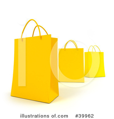 Shopping Bag Clipart #39962 by Frank Boston
