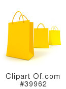 Royalty-Free (RF) Shopping Bag Clipart Illustration #39962