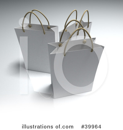 Shopping Bag Clipart #39964 by Frank Boston