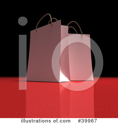 Shopping Bag Clipart #39967 by Frank Boston