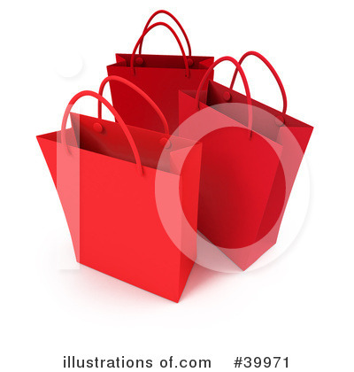 Shopping Bag Clipart #39971 by Frank Boston