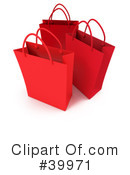 Royalty-Free (RF) Shopping Bag Clipart Illustration #39971