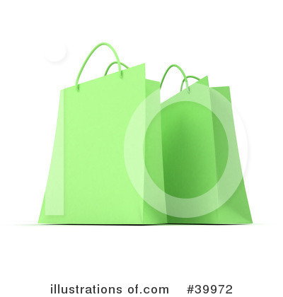 Shopping Bag Clipart #39972 by Frank Boston